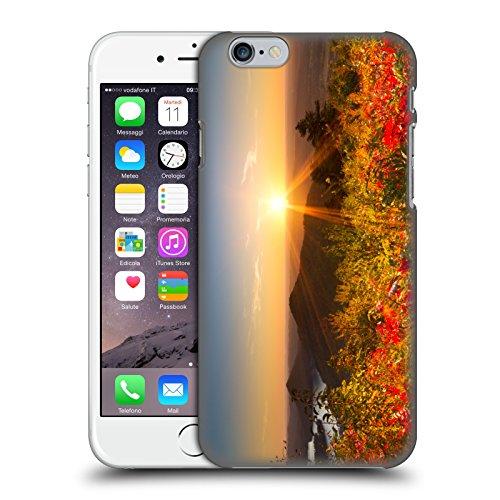 Head Case Designs Offizielle Celebrate Life Gallery Feuer am Berg Blumig Harte Rueckseiten Huelle kompatibel mit iPhone 6 / iPhone 6s -