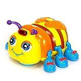 Baby-Kinder Musikspielzeug Tiere Elektronisch Babyspielzeug Krabbelkäfer Insekt mit Licht und Musik / smartes Spielzeug mit sich bewegenden Augen und Tentakeln Baby Bunter Lernkäfer 1-3 Jahre