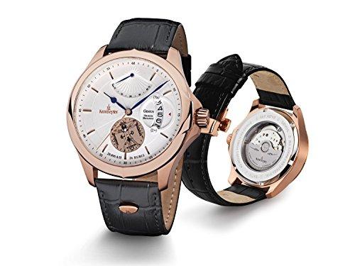 kronsegler-genius-orologio-automatico-colore-oro-rosa-argento