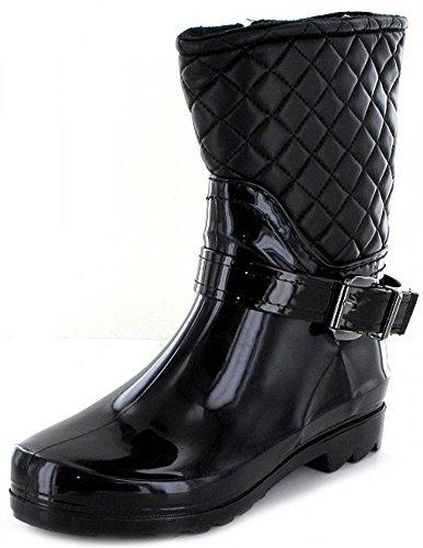 Q-Schuh Stiefel-Warmfutt.Da 0Schwarz