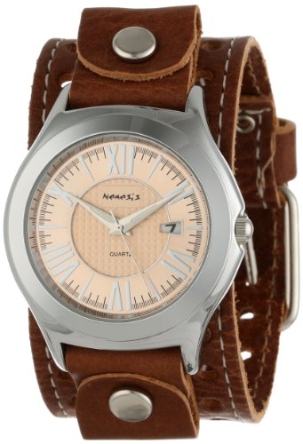Nemesis Men's BSTH099P Brown Collection Roman Casual Watch