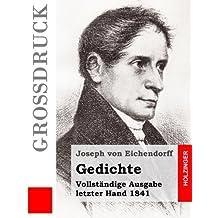 Gedichte (Großdruck): Vollständige Ausgabe letzter Hand 1841