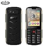 gaeruite SERVO H8 Cellphone 2.8Inch 4 SIM Cards 4 Telefono in Standby, 3000 mAh Telefono Cellulare a Basso costo Supporto Bluetooth Torcia GPRS