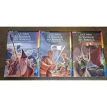 Le Seigneur des Anneaux en 3 tomes COMPLET. Tome 1: La Communauté de l'Anneau. Tome 2: Les Deux Tours. Tome 3: Le Retour du Roi