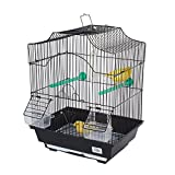 pour Animal Domestique Ting Freesia Petite Cage à Oiseaux-pour Finch Canaries Perruche et Autres Oiseaux de Taille similaire ()