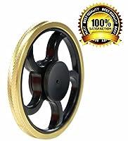P.LOTOR EDC Spielzeug with Super Lange Spinning Bearing Gold Round Edge