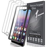 LK [3 Pack Pellicola Protettiva per Huawei P20 PRO, [Installazione Semplice Cornice allineamento] Protezione Schermo Vetro Temperato Screen Protector [Garanzia di Sostituzione a Vita]