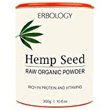Roh Bio Hanf-Proteinpulver 300g - Reich an Vitamin D und Mineralien