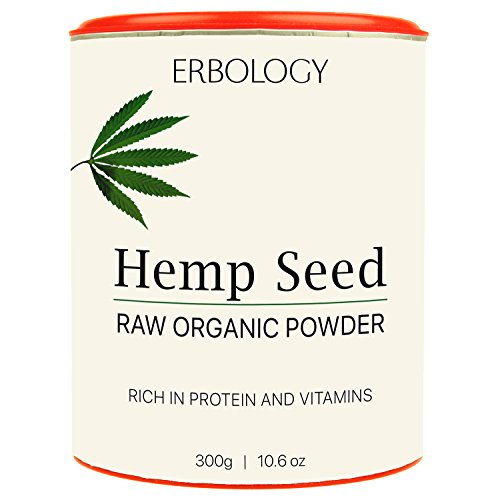 *Roh Bio Hanf-Proteinpulver 300g – Reich an Vitamin D und Mineralien*