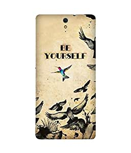 Be Yourself Sony Xperia C5 Case