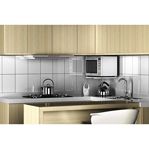 Xavax 00110930 soporte para microondas color blanco - Soportes microondas pared ...