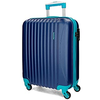 Trolley ABS 55Cm 4R Picadilly Azul