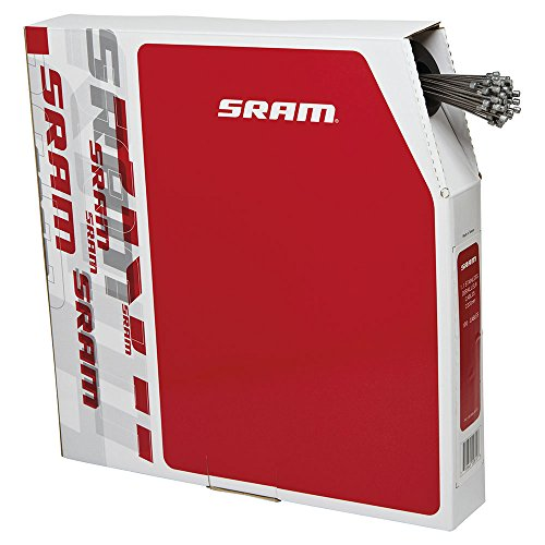 SRAM 103000 CABLE CAMBIO  1 1 ACERO INOXIDABLE  2200 MM  100 UNIDADES POR CAJA  MULTICOLOR  M