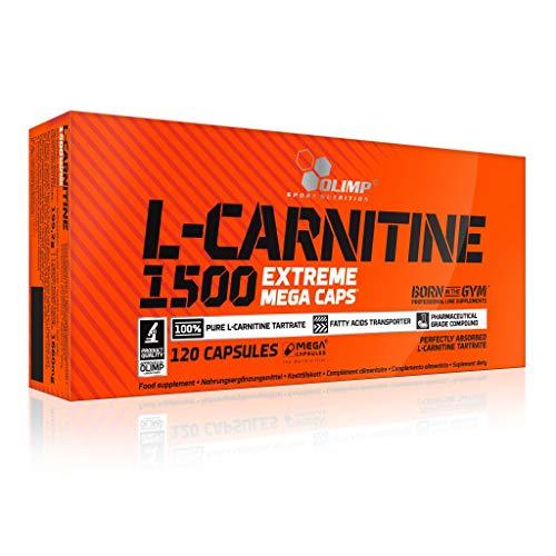 3 x Olimp L-Carnitine 1500, 120 Mega Caps (3er Pack)