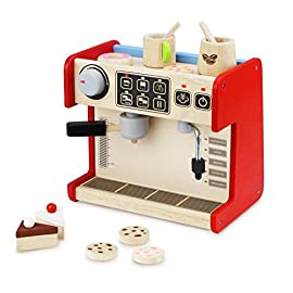 Andreu Toys Andreu ToysWW-4567 Wonder World All in 1 Coffee Shop Toy Set, 26 x 19 x 24 cm
