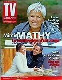 TV MAGAZINE FIGARO [No 20955] du 17/12/2011 - MIMIE MATHY / LA CONFESSION D'UN ANGE - NIKOS ET SANDRINE QUETIER - 5 ANS D'IDYLLE