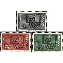 sellos para coleccionistas: Francia db6-db8 (completa.edición.) nuevo con goma original 1966 UNESCO