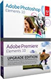 Adobe Photoshop Elements and Premiere Elements 10 Bundle,...