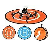 BELLESTYLE Drone Landing Pad, 75cm Impermeabile e Pieghevole Pad di Atterraggio...