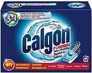 Calgon Pastiglie Anticalcare Lavatrice, Formula 3in1, Confezione da 30 Pastiglie