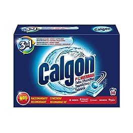 Calgon, Pastiglie Anticalcare Lavatrice, 3in1, 30 Pastiglie