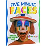 Snazaroo - libro con ideas para maquillaje (caras en 5 min)