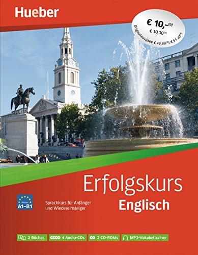 Erfolgskurs Englisch: Paket: 2 Übungsbücher + 4 Audio-CDs + 2 CD-ROMs