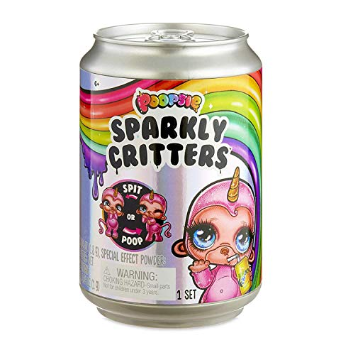 Poopsie Sparkly Critters That Magically Poop or Spit Slime, Limited Edition
