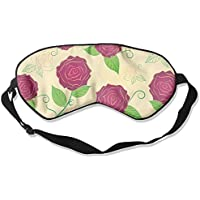 Comfortable Sleep Eyes Masks Floral Pattern Sleeping Mask For Travelling, Night Noon Nap, Mediation Or Yoga preisvergleich bei billige-tabletten.eu