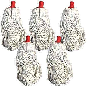 5 X GRANDE ROTONDO Nylon Setola Pennello Testa Ugello per lavapavimenti a vapore Vax