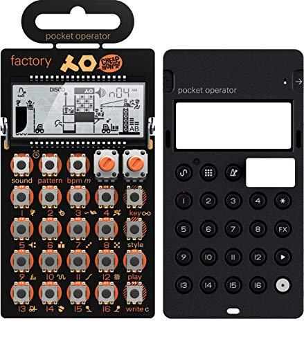 Teenage Engineering: po-16Factory Pocket Operator + Silikon Fall Bundle -