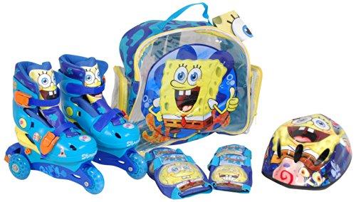 SpongeBob - Set pattini a rotelle convertibile (SAICA Giocattoli 8331)