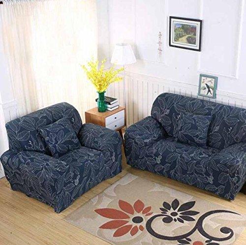 FIOLTY Sofa für Lig Zimmer Moderner Sofa-Abdeckung elastischer Polyester Sofa Abdeckung Möbel-Schutz Polyester Love Seat Couch Cover: 010, Zweisitzer