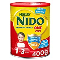 Nestlé NIDO One Plus Growing Up Milk Powder Tin For Toddlers 1-3 Years, 400g