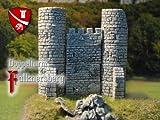 Doppelturm Falknersberg, Bausatz, Spur N
