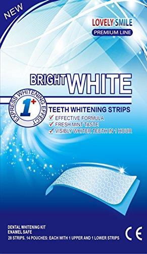 28 Sbiancamento Dei Denti Strisce Qualità Professionale Nessuna Tecnologia Antiscivolo - Whitestrips - Teeth Whitening (Crest Whitening Whitestrips)