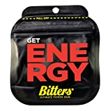 BITTERS - energy chewing gum with caffeine and taurine, box of 12 units of 3-Pack WATERMELON - BITTERS - Energie Kaugummi mit Koffein und Taurin, Schachtel mit 12 Einheiten 3er-Pack WASSERMELONE