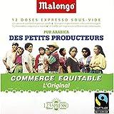 Malongo - Dosettes de café pur arabica, culture des petits producteurs - 75g - Prix Unitaire - Livraison Gratuit En France métropolitaine sous 3 Jours Ouverts