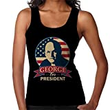 Cloud City 7 Seinfeld George for President Women's Vest