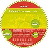 Italienisch –  Präpositionen: Wheel – Italienisch – Präpositionen