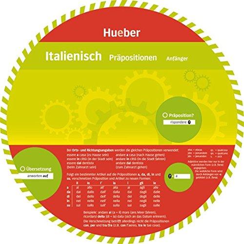Italienisch -  Präpositionen: Wheel - Italienisch - Präpositionen