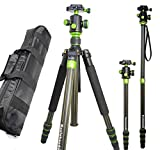 Koolehaoda® Ks500c Portable Carbon Tripod Monopod Kit & Ball Head Compact Travel