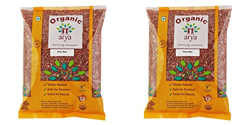 Arya Farm Organic Red Rice, 1kg