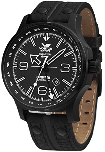 Vostok Europe Expedition North Pole relojes hombre 515.24H-595C502