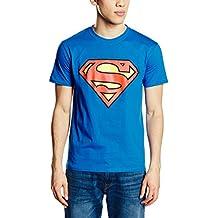 d9b40d4eb DC Comics Superman Logo Camiseta para Hombre