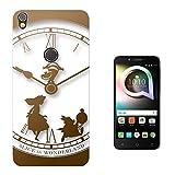 000459 - Vintage Clock Alice In Wonderland Design Alcatel