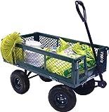Carretto per giardino con laterali abbattibili carico max 400kg Papillon