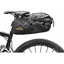 BSA Gear Borsa sottosella Big Saddle Bag 18L nero (Borse Bike Packing) / Roll up Big Saddle Bag bikepacking 18L black (BikePacking Bags)