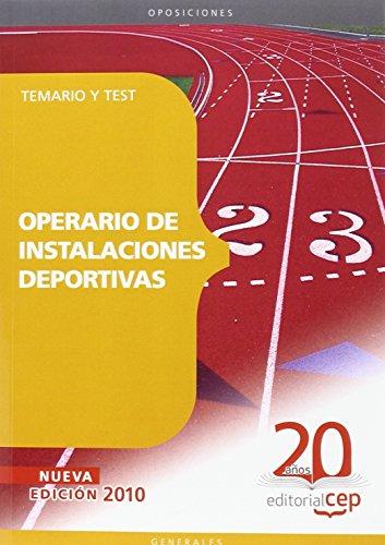 Operario de Instalaciones Deportivas. Temario y Test (Colección 109) por Sin datos