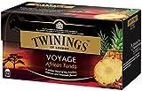 Twinings Voyage - Indian Chai - Té Negro Aromatizado con Cardamomo, Clavo de Olor, Jengibre y Canela -Colores Brillantes y Perfumes intensos de la India (25 Bolsas)